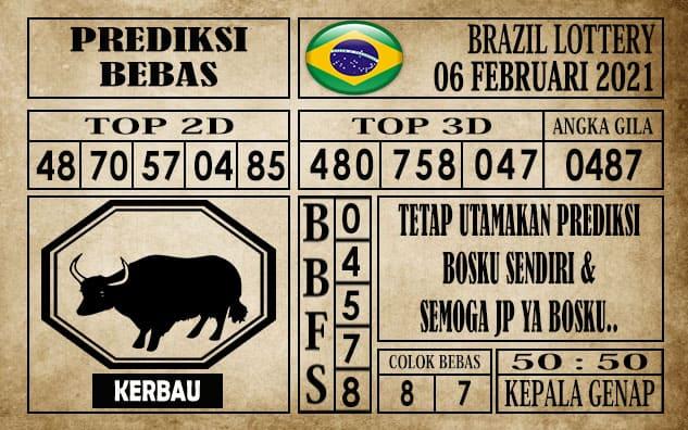 Prediksi Brazil Lottery Hari Ini 06 Februari 2021