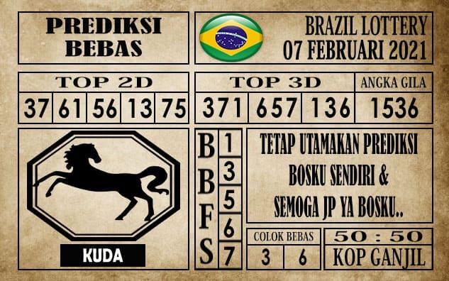 Prediksi Brazil Lottery Hari Ini 07 Februari 2021