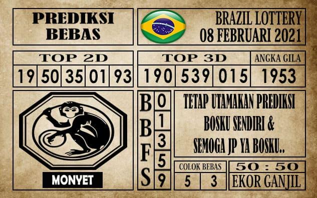 Prediksi Brazil Lottery Hari Ini 08 Februari 2021