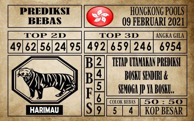 Prediksi Hongkong Pools Hari Ini 09 Februari 2021