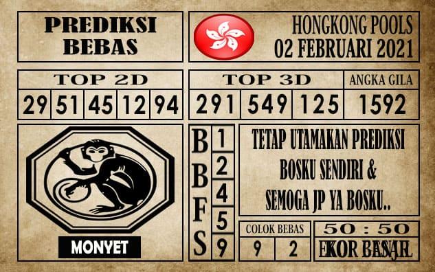 Prediksi Hongkong Pools Hari Ini 02 Februari 2021