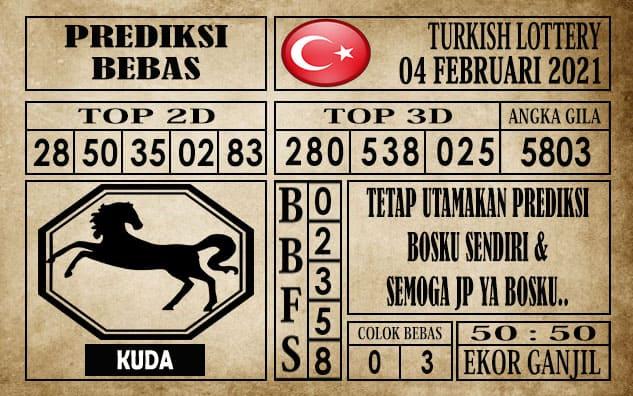 Prediksi Turkish Lottery Hari ini 04 Februari 2021
