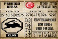 Prediksi Turkish Lottery Hari ini 24 Februari 2021
