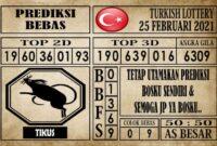 Prediksi Turkish Lottery Hari ini 25 Februari 2021