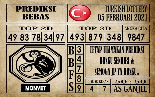 Prediksi Turkish Lottery Hari ini 05 Februari 2021