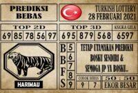 Prediksi Turkish Lottery Hari ini 28 Februari 2021