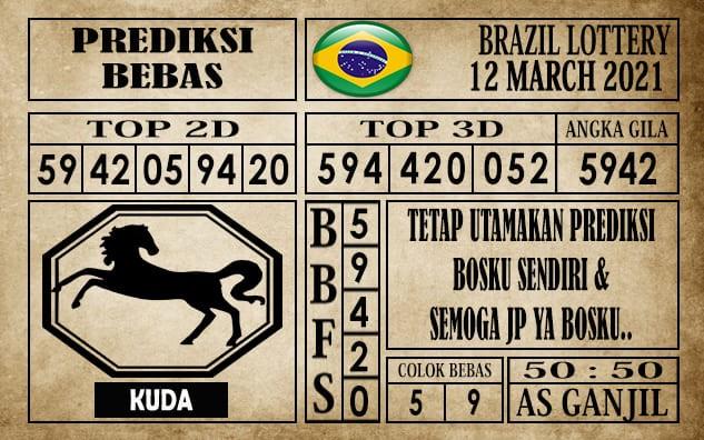 Prediksi Brazil Lottery Hari Ini 12 Maret 2021