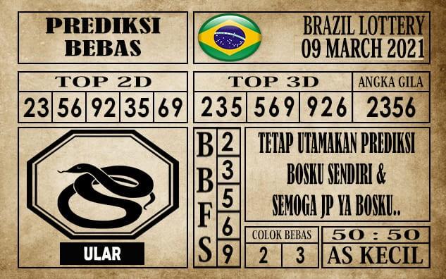 Prediksi Brazil Lottery Hari Ini 09 Maret 2021