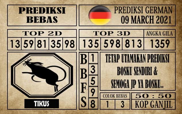 Prediksi Germany Hari Ini 09 Maret 2021