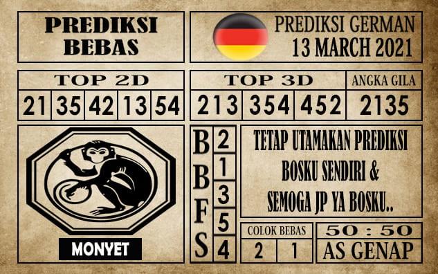 Prediksi Germany Hari Ini 13 Maret 2021