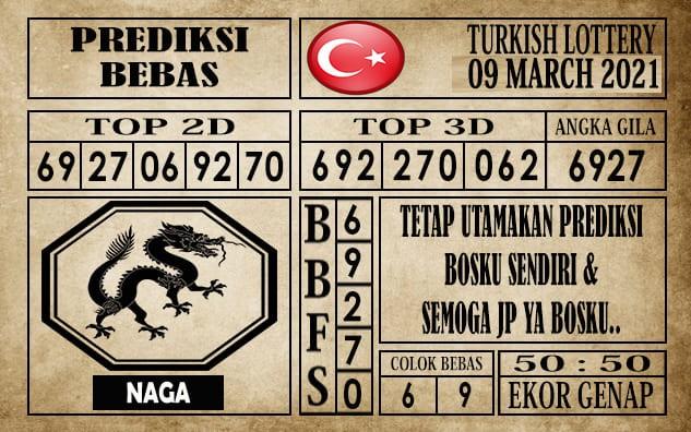 Prediksi Turkish Lottery Hari Ini 09 Maret 2021