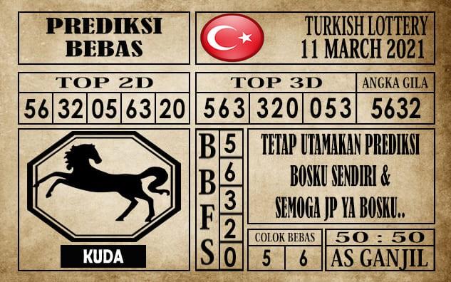 Prediksi Turkish Lottery Hari Ini 11 Maret 2021