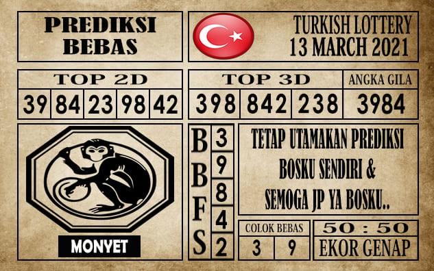 Prediksi Turkish Lottery Hari Ini 13 Maret 2021