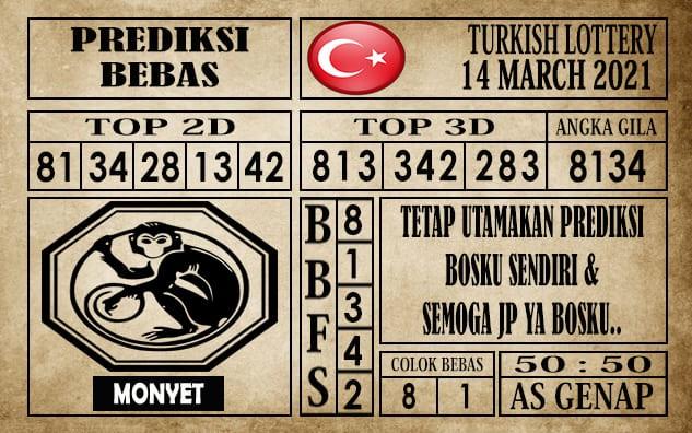 Prediksi Turkish Lottery Hari Ini 14 Maret 2021