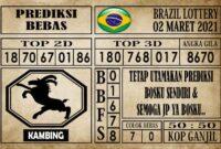 Prediksi Brazil Lottery Hari Ini 02 Maret 2021