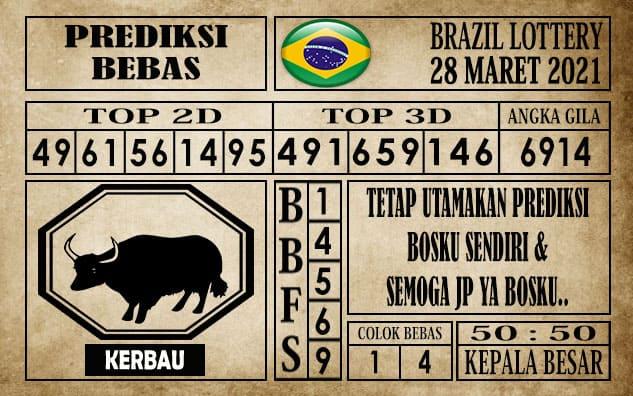 Prediksi Brazil Lottery Hari Ini 28 Maret 2021
