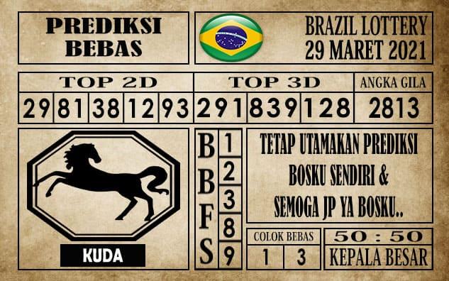 Prediksi Brazil Lottery Hari Ini 29 Maret 2021