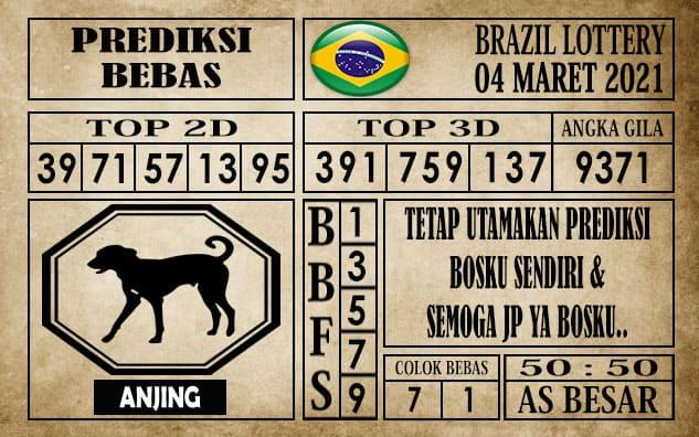 Prediksi Brazil Lottery Hari Ini 04 Maret 2021