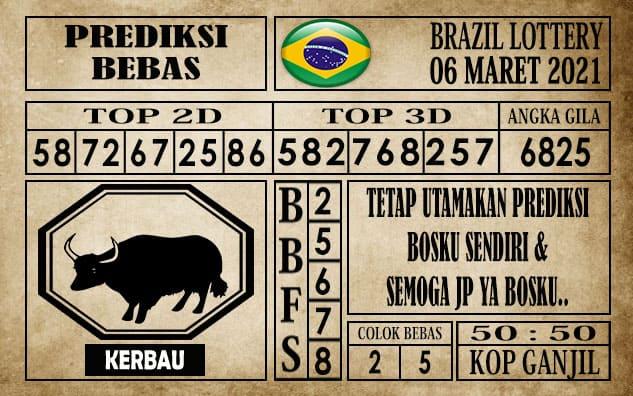Prediksi Brazil Lottery Hari Ini 06 Maret 2021