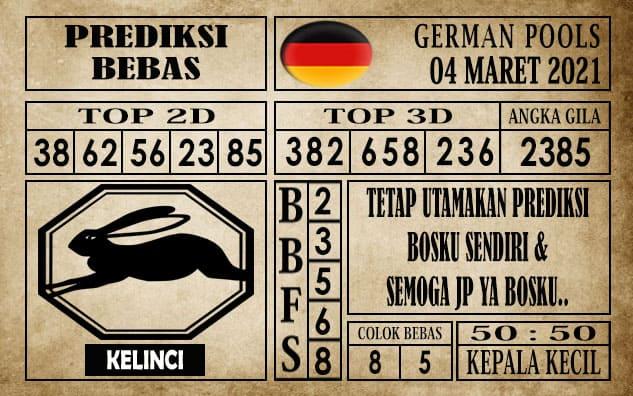 Prediksi Germany Hari Ini 04 Maret 2021