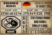 Prediksi Germany Hari Ini 02 Maret 2021