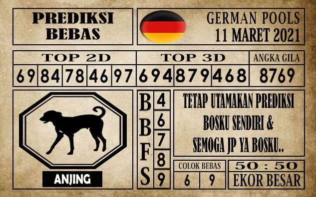 Prediksi Germany Hari Ini 11 Maret 2021