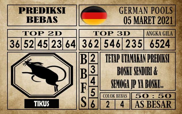 Prediksi Germany Hari Ini 05 Maret 2021
