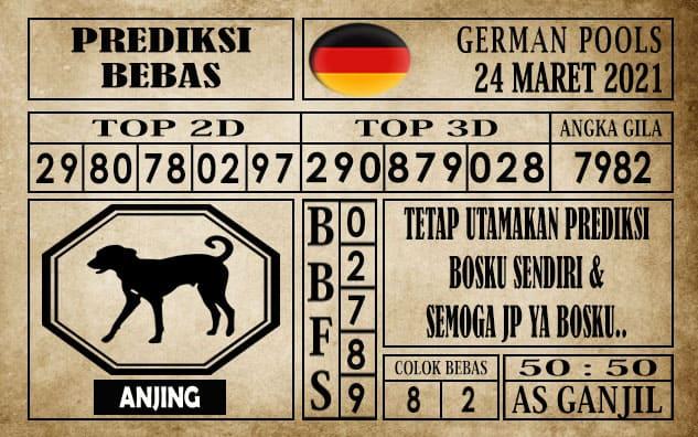 Prediksi Germany Hari Ini 24 Maret 2021