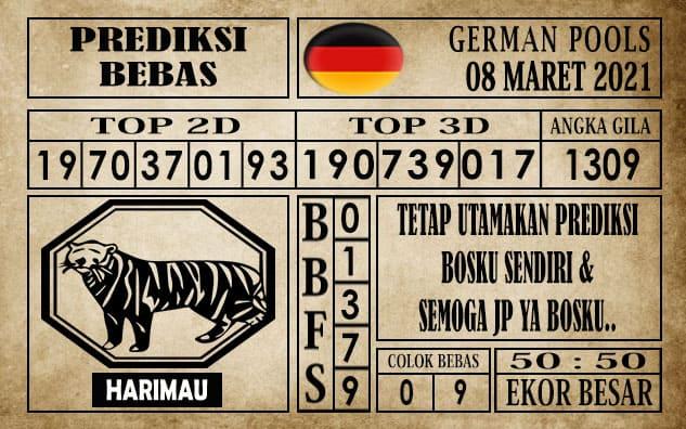 Prediksi Germany Hari Ini 08 Maret 2021