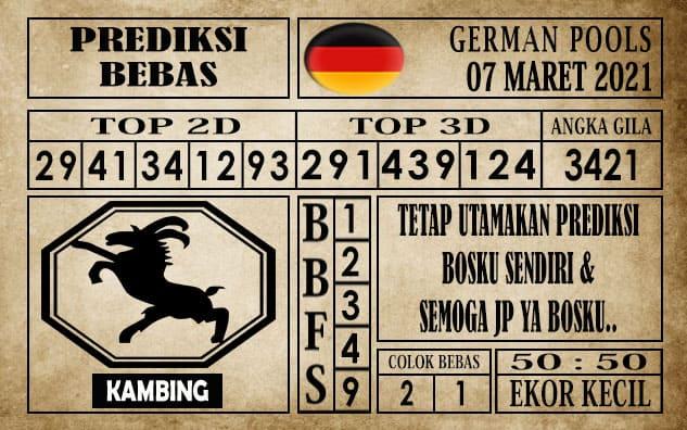Prediksi Germany Hari Ini 07 Maret 2021
