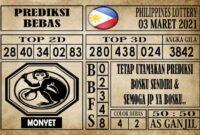 Prediksi Filipina PCSO Hari Ini 03 Maret 2021
