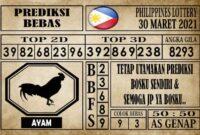 Prediksi Filipina PCSO Hari Ini 30 Maret 2021