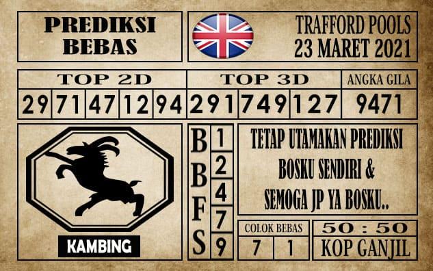 Prediksi Trafford Pools Hari Ini 23 Maret 2021