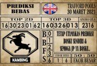 Prediksi Trafford Pools Hari Ini 30 Maret 2021