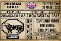 Prediksi Trafford Pools Hari Ini 31 Maret 2021
