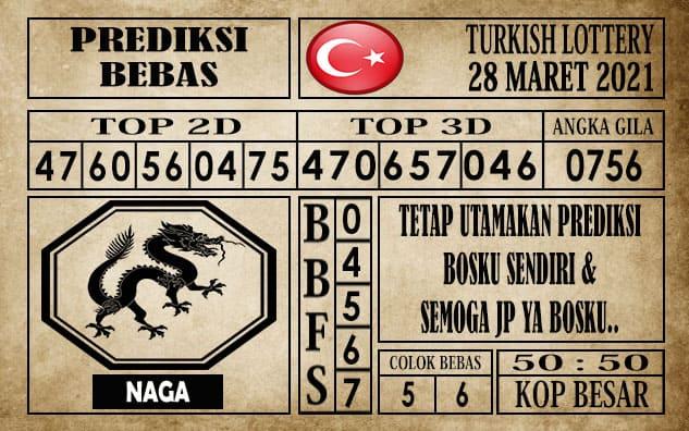 Prediksi Turkish Lottery Hari ini 28 Maret 2021
