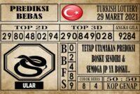 Prediksi Turkish Lottery Hari ini 29 Maret 2021