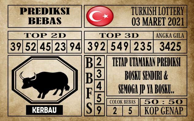 Prediksi Turkish Lottery Hari ini 03 Maret 2021