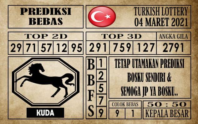 Prediksi Turkish Lottery Hari ini 04 Maret 2021