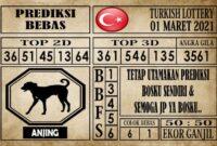 Prediksi Turkish Lottery Hari ini 01 Maret 2021