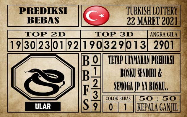 Prediksi Turkish Lottery Hari ini 22 Maret 2021