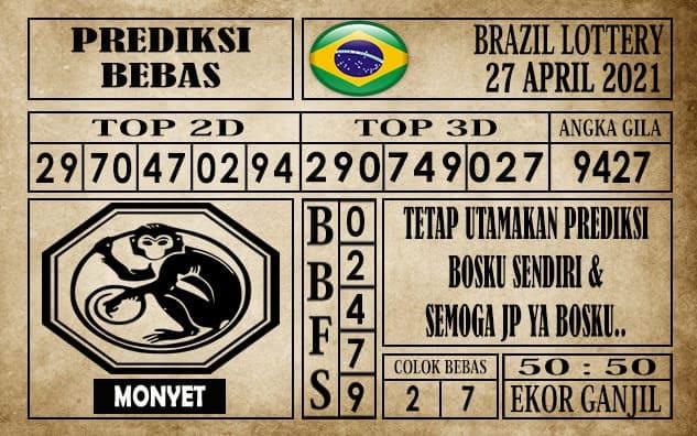 Prediksi Brazil Lottery Hari Ini 27 April 2021