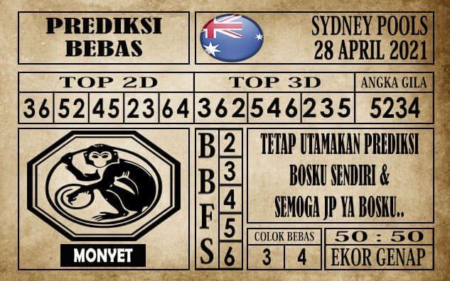 Prediksi Sydney Pools Hari ini 28 April 2021