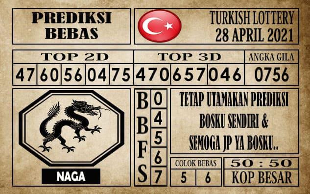 Prediksi Turkish Lottery Hari ini 28 April 2021