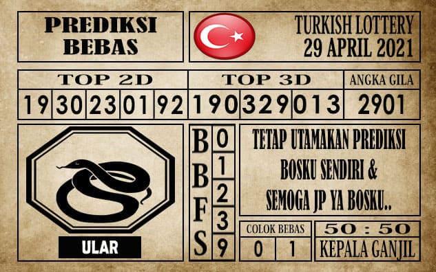 Prediksi Turkish Lottery Hari ini 29 April 2021