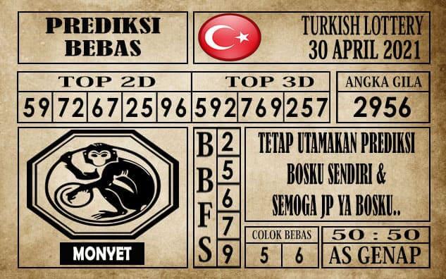 Prediksi Turkish Lottery Hari ini 30 April 2021