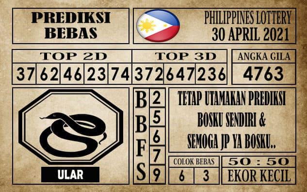 Prediksi Filipina PCSO Hari Ini 30 April 2021