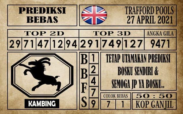 Prediksi Trafford Pools Hari Ini 27 April 2021