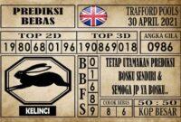 Prediksi Trafford Pools Hari Ini 30 April 2021