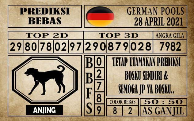 Prediksi Germany Hari Ini 28 April 2021
